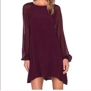 Cleobella Karlie Wine Dress NWT